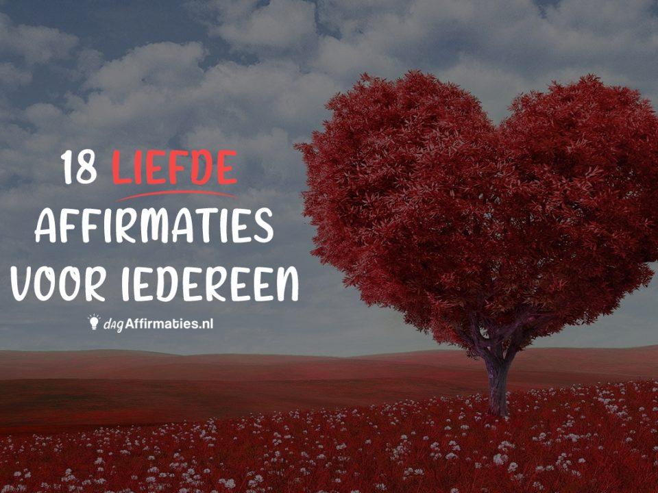 liefde affirmaties