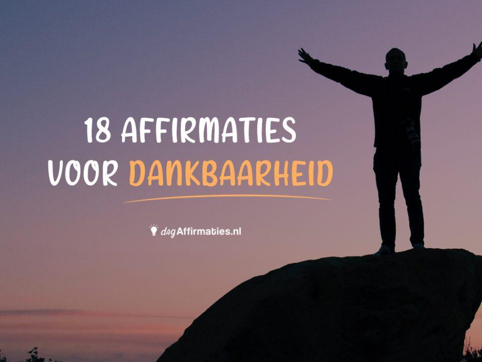 affirmaties dankbaarheid
